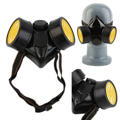 Gas Mask Dual Protection Filter Emergency Survival Safety  V5N