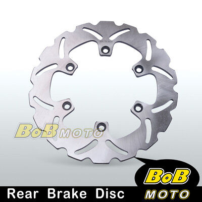 1x Solid Rear Brake Disc Rotor For Yamaha YZ 250 F 02 03 04 05 06 07 08 09-13