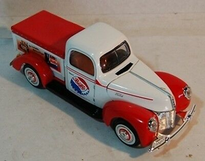 1940 Ford Pepsi-Cola Red & White Toy Truck FREE SHIPPING!