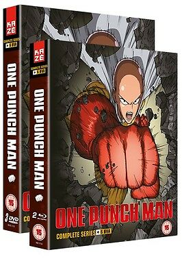 One Punch Man Collection 1 (Episodes 1-12 + 6 OVA)