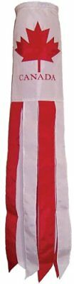 In The Breeze 40-Inch Canada Applique Windsock