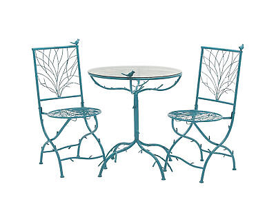 Traditional and Lovely Style Metal Bistro Set Of 3 Home Decor 27146