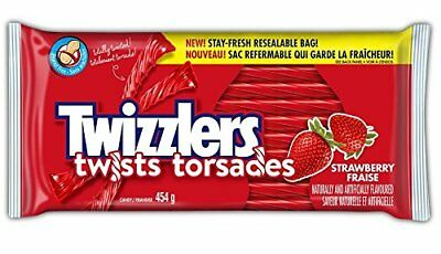 Twizzlers Strawberry Twists Party Pack 454gm