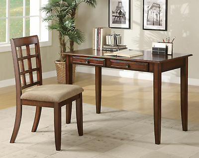 Coaster Desk Set In Chestnut Finish 800778