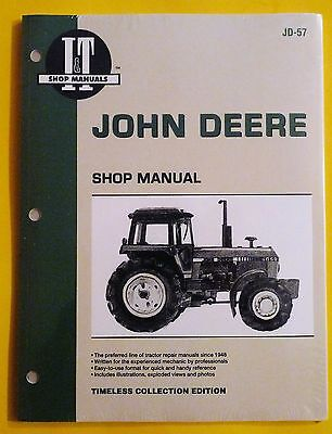 NEW John Deere Shop Service Manual 4050 4250 4450 4650 4850 Tractors JD-57