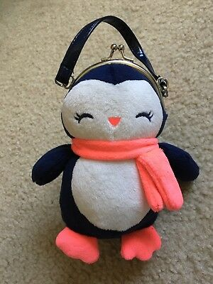 Gymboree Polar Pink Penguin Purse