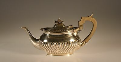 Mappin and Webb Sterling Silver Queen Anne  Teapot, London, England