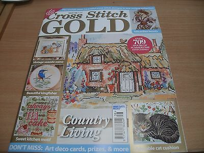 Cross Stitch Gold magazine #138 2017 Country Living, Edwardian Beauty & more