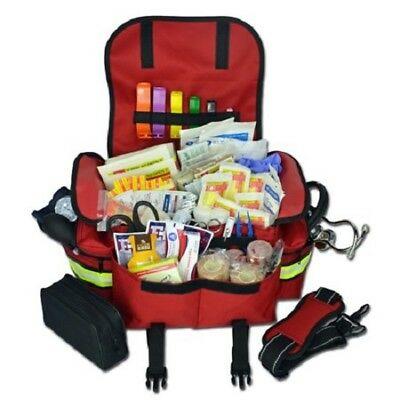 Trauma Bag First Aid Kit First Responder Complete Shocked EMT EMS Paramedic Full