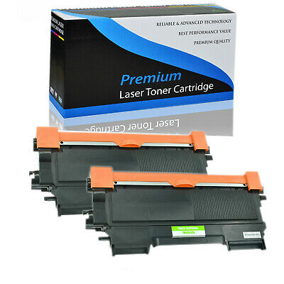 2 Pack Toner Black for Brother TN450 DCP-7060D 7065DN HL2130 2132 2220 2230 2240