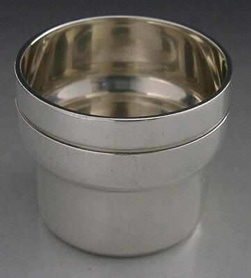 Rare Heavy Irish Provincial Sterling Silver Tot Cup 1970 Rionore Or Kilkenny Ltd