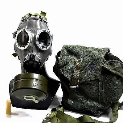 Vintage soviet era army gas mask 40mm gas mask filter MS-4. Mask MC-1. All sizes