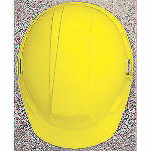 HONEYWELL NORTH Hard Hat,4 pt. Ratchet,Ylw, A89R020000, Yellow