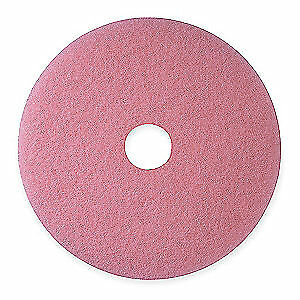 3M Non-Woven Polyester Fiber Burnishing Pad,27 In,Pink,PK5, 3600, Pink