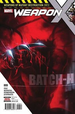 WEAPON X #6 Mutant Destruction NM