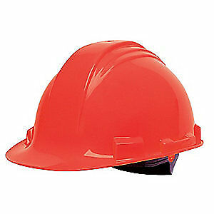 HONEYWELL NORTH Hard Hat,C, E,Red,4 pt. Pinlock, A59150000, Red