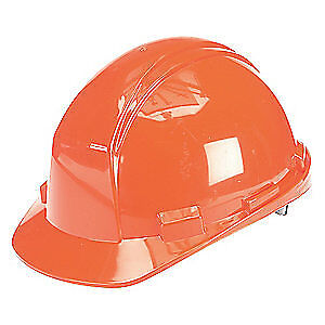 HONEYWELL NORTH Hard Hat,4 pt. Ratchet,Or, A89R030000, Orange