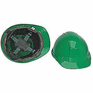 HONEYWELL NORTH Hard Hat,4 pt. Pinlock,Dark Grn, A89040000, Dark Green