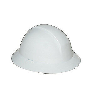 HONEYWELL NORTH Hard Hat,6 pt. Ratchet,Wh, A49R010000, White