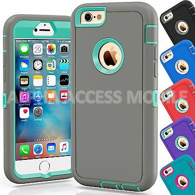 12 TPU Shockproof Defender Hybrid Case Wholesale Lot For Apple iPhone 6/6S Plus