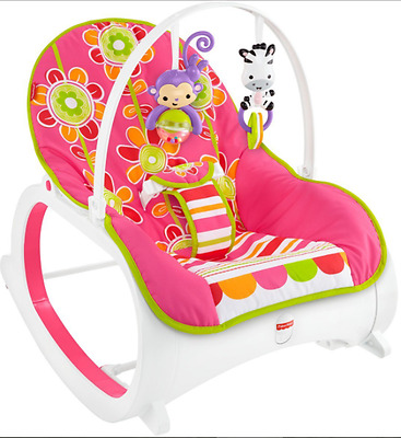 Fisher-Price Infant-to-Toddler Rocker New Toy Baby Infant Seat Bouncer Cradle