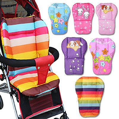 Baby Infant's Trolley Stroller Pram Pushchair Seat Thick Liner Pad Cushion Mat