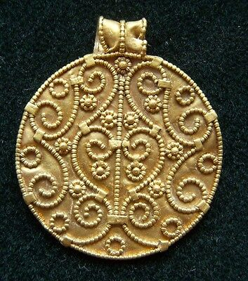 Viking Gold Pendant