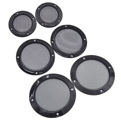 "2 Pcs 2"" Speaker Cover Grill Audio Protective Hood Case Decorative Metal Mesh"