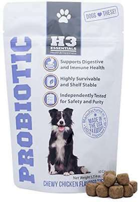 H3 Essentials - Probiotics for Dogs - For Immune & Digestive Health