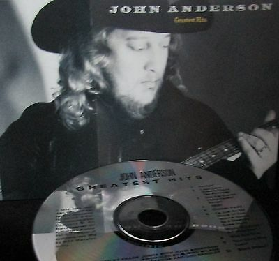Greatest Hits by John Anderson NEW! CD Free Ship! Country Folk Honky Tonk