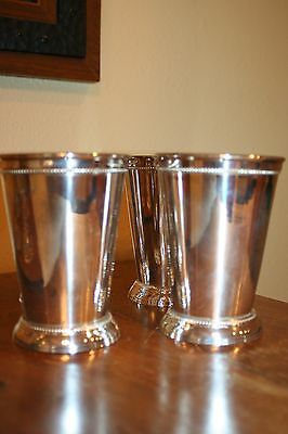 Towle Silver Plated Mint Julip Cup Set of 4