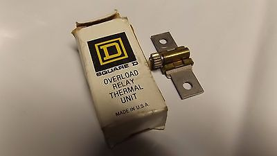 Square D Overload Relay Thermal Unit B 36