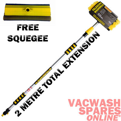 Standard Wash Brush 2 Metres - Caravan - Boat - Van - Car - Lorry - Motorhome