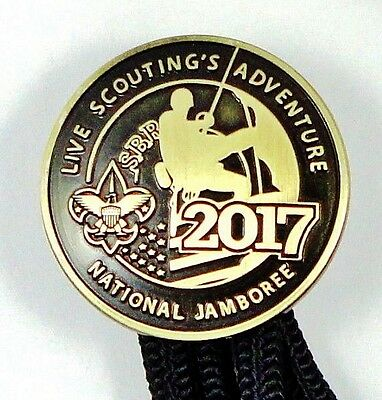 Official 2017 National Boy Scout Jamboree Bolo Tie...  Not Patch