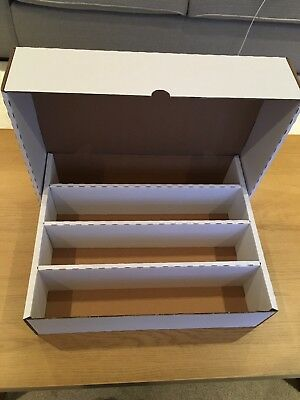STRONG CARD STORAGE BOX HOLDS 4000 CARDS! Pokemon, Yu-Gi-Oh!, MTG...