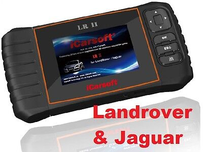 Land Rover & Jaguar Diagnostic Code Reader Scan tool iCarsoft LRII