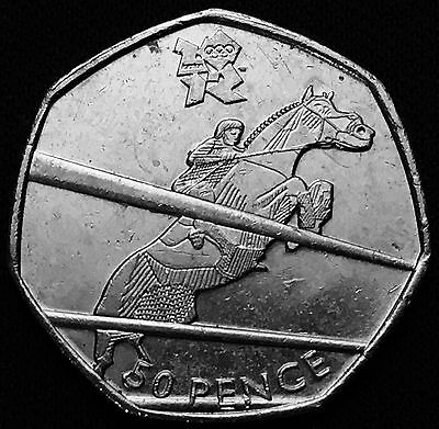 Olympic 50p Coin Equestrian 163 1 00 Picclick Uk