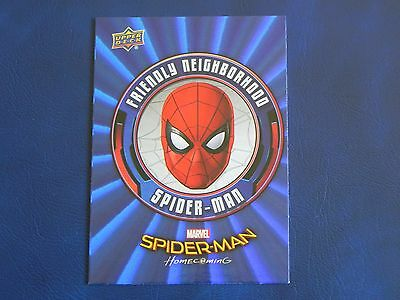 2017 UD Spider-Man Homecoming BLUE FOIL RB-31 Spiderman WALMART EXCLUSIVES