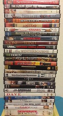 DVD Movies Lot of 28 Brand New Factory Sealed
