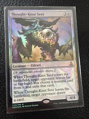 1 Thought-Knot Seer Colorless Oath of the Gatewatch Mtg Magic Rare 1x x1