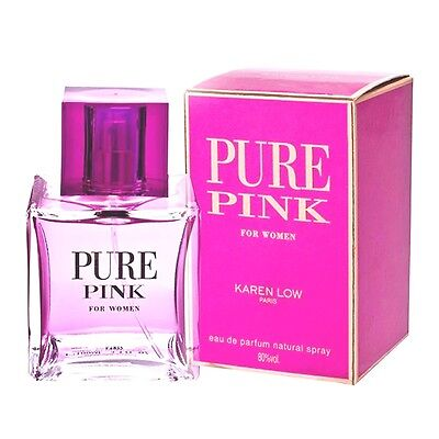 Pure Pink By Karen Low 3.3/3.4oz. Edp Spray For Women