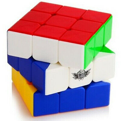 Colorful Cyclone Boys 3x3x3 Simplified Version Magic Cube Stickerless Speed Cube