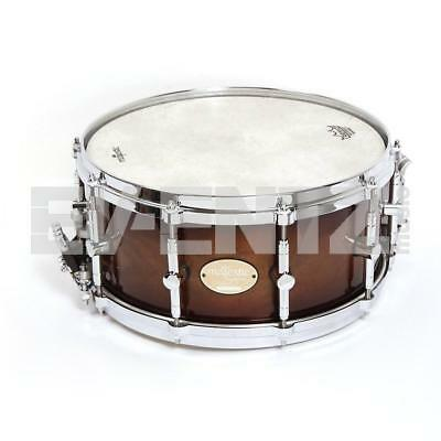 "Majestic 14"" x 6.5"" Prophonic Walnut Snare Drum Inc Case"