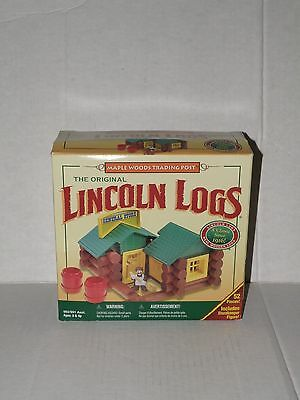 The Original Lincoln Logs Maple Woods Trading Post New In Box