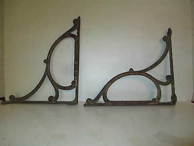 Vintage indstrial, repourposed sink brackets cast iron