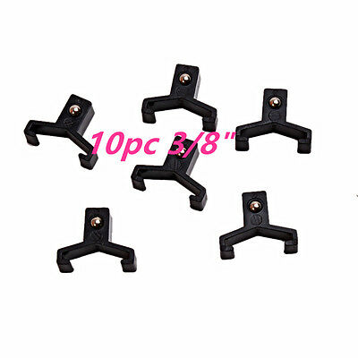"""10pc Replacement Clips Socket Rail Tray Organizer On Snap Lock 3/8"""""""