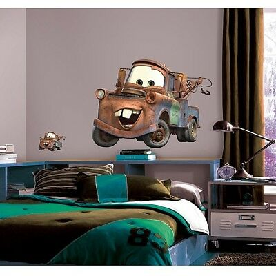 Mater Wall Sticker Disney Cars Toddler Child Bedroom Decor Wall Decal Boys Girls