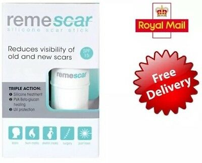 REME SCAR REDUCES VISIBILITY OF OLD & NEW SCARS 5.4g FREE POSTAGE UK SELLER