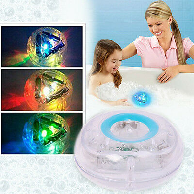 Party in the Tub Make Bath Time Fun Color Changing Kids Bath Funny LED Light Toy