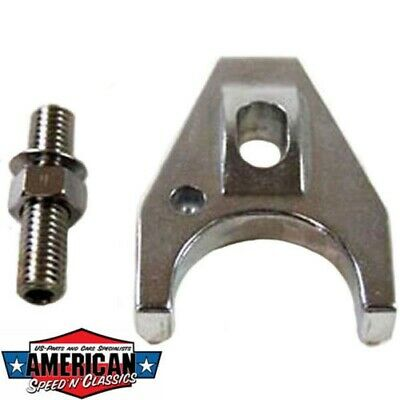 Verteilersicherung Alu Poliert Chevrolet V8 ab`63 Distributor Hold-Down Clamp